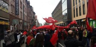 Германия: сторонники РПК атаковали антитеррористическую демонстрацию