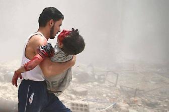 443 ребенка погибли в Сирии в результате ударов российской авиации