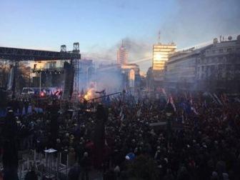 Фашисты в Сербии и России протестуют из-за Караджича