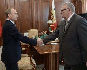 Жириновский и Путин: один говорит, другой делает