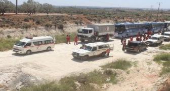 Сирия: обмен жителями блокадных городов