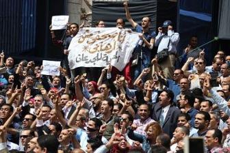 Египетские журналисты против репрессий Сиси