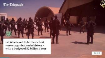 The Telegraph - ИГИЛ зарабатывало ежемесячно по $ 40 млн. на нефтесделках с Асадом