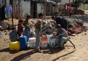 В Рамадан сионисты лишают палестинцев воды