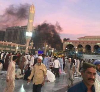 Сатанизм: теракт у мечети Пророка
