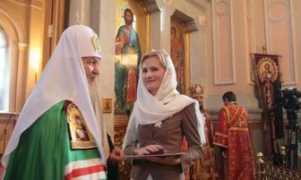 Ирина Яровая награждена орденом РПЦ