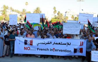 Антифранцузское сопротивление в Ливии: убиты 3 оккупанта