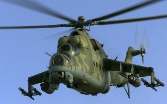 В Сирии сбит военный вертолет (ВИДЕО)
