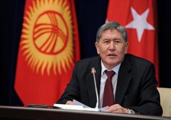 Президент Кыргызстана хамит Турции