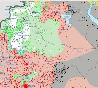 Сирия: повстанцы продвигаются к Хаме. Аднани убит