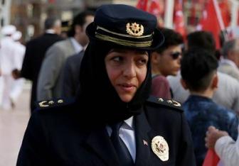 Глава стамбульской полиции теперь в хиджабе