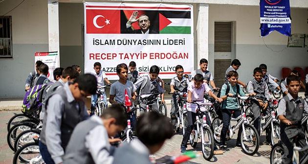 Турция отправила в Газу вторую партию помощи