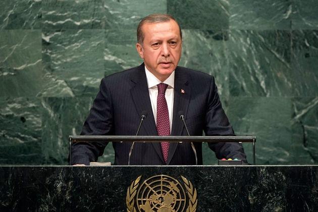 Эрдоган в ООН: против Асада, за Палестину и Украину