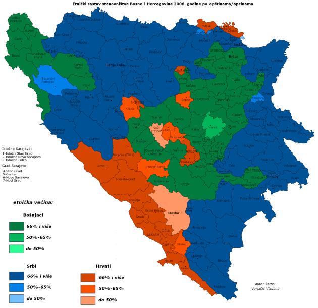 В Боснии заговорили о войне. Москва подстрекает