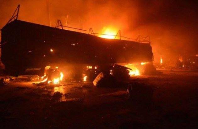Асад разбомбил гуманитарный конвой и вышел из перемирия