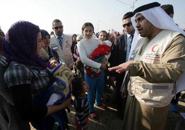 ОАЭ обещает принимать сирийских беженцев