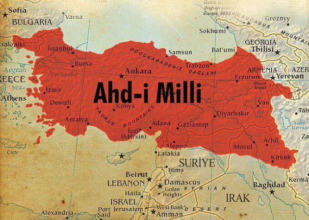 Эрдоган: Турцию больше не устраивают навязанные ей границы