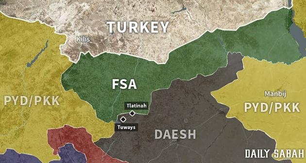 """Сирия: """"Щит Евфрата"""" продолжает расширяться"""