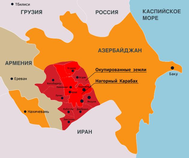 Алиев еще раз предложил решить проблему Карабаха миром