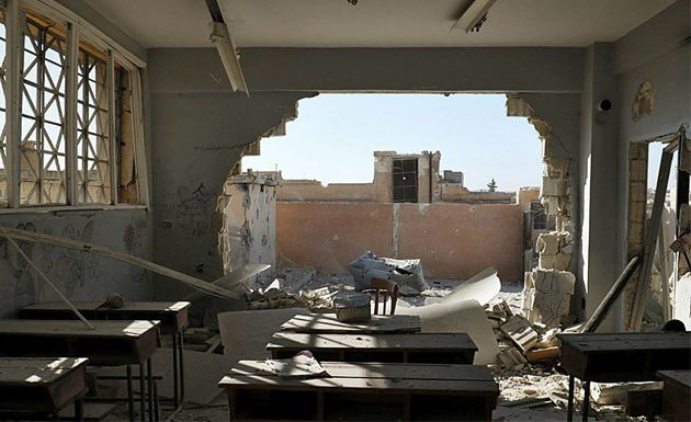 Сирия: убийство свыше 20 детей в школе. Предположительно ВКС РФ