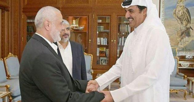 Эмир Катара встретился с лидерами ХАМАС